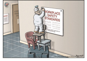workplace safety cartoon
