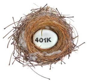401 k nest egg