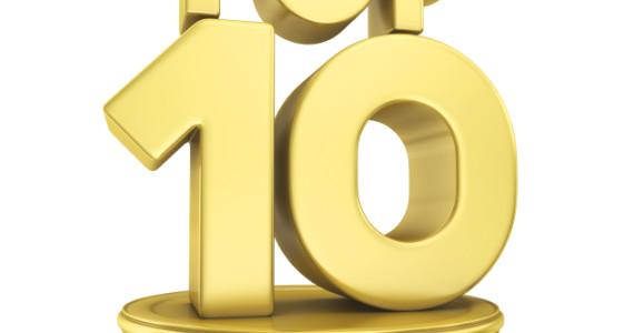 Top 10 gold