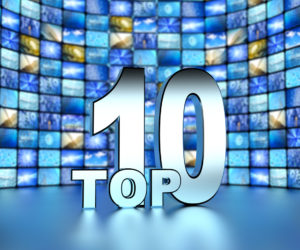top 10 and  media screens